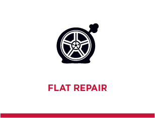 Schedule a Flat Repair Today at Sherwood Tire Pros in Sherwood, AR 72120 or at Cross Tire Pros in Little Rock, AR 72211